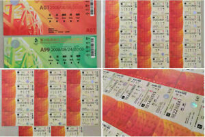 All 37pcs BeiJing 2008 Olympic Tickets Set Opening&Closing Ceremony&35Individual