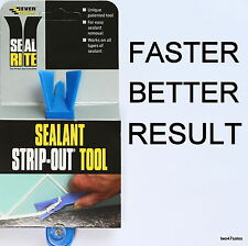 Strip Out Tool sealant silicone mastic bath shower tile window Seal worktop uPVC