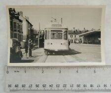 Photo Blackpool Tram in 1952