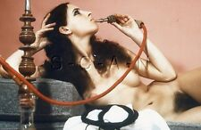 Vintage 1950s-60s German Nude 35mm Slide / Negative- Artistic- Hookah Pipe #3
