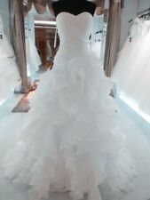 White/Ivory Mermaid Bridal Gown Wedding Dress Custom Size:2+4+6+8+10+12+14+16