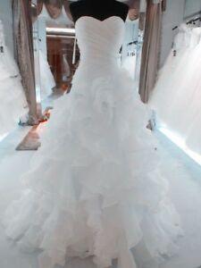 White/Ivory Mermaid Bridal Gown Wedding Dress Custom Size:2+4+6+8+10+12+14+16