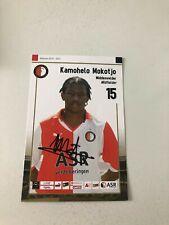 Spelerskaart Topspieler Handsigniert Feyenoord 10-11 Kamohelo Mokotjo