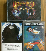 Cassette Tapes Lot Of 3 Bob Dylan Oh Mercy Greatest Hits Dylan & The Dead