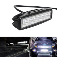 18W LED Work Light Bar Offroad Boat Car Tractor Truck Fog Driving DRL Lamp 6500K