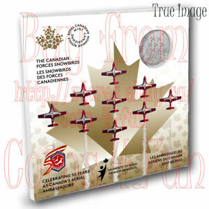 1971-2021 Moments to Hold #3 The Snowbirds 50 Years - $5 Pure Silver Coin Canada