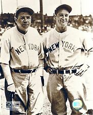 NEW YORK YANKEES GREATS BABE RUTH AND LOU GEHRIG CLASSIC IN ROAD UNIFORMS