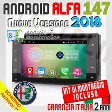 "AUTORADIO 7"" Android 6.0  Full Touch ALFA ROMEO 147 Mp3,Bluetooth,MP4 DAB+DVD..."
