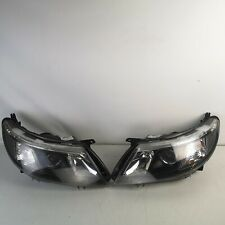 Saab 9-3 93 2008-12 Facelift Genuine Pair Of Front Headlight Headlamp Assembly