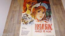 L' OISEAU BLANC !  Youri Ilyenko   rare affiche cinema vintage urss 1970
