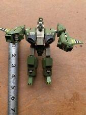 ROBOTECH Gakken green Alpha Fighter Legioss loose figure mospeada Die-cast metal