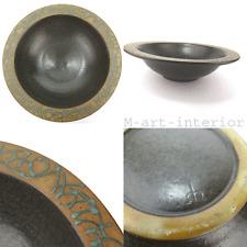 modernist Studiokeramik Schale Meersburger Keramik Ø 37Art Pottery Bowl 1960´s