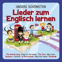 FAMILIE SONNTAG - UNSERE SCHÖNSTEN LIEDER ZUM ENGLISCH LERNEN  CD NEU