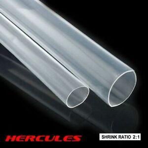 Adhesive Clear Heat Shrink Sleeving - 2:1 Weatherproof Heatshrink Tubing 16-25mm