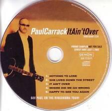 Ace Squeeze PAUL CARRACK SAMPLER PROMO CD Ringo Starr