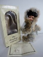 New Vintage The Broadway Collection Native American Indian Eskimo Baby Doll Coa!