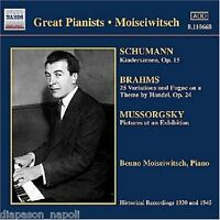 Benno Moiseiwitsch: Great Pianists - CD
