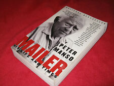 MAILER  ~ His Life & Times. Peter Manso. Sc Definitive bio AMERICAN ICON. Funny