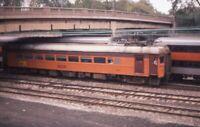 CSS&SB CHICAGO SOUTH SHORE SOUTH BEND Railroad Train CHICAGO IL 1977 Photo Slide