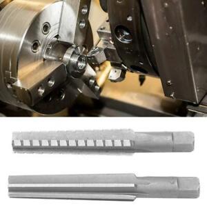 2pcs HSS MT2 Milling Reamer Machine Reamer Straight Shank Reamer 1.5x12.5cm