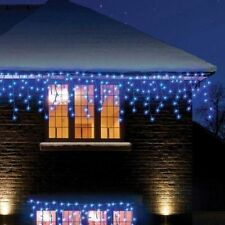 192 Twinkiling Christmas Led Icicle Bright Party Wedding Xmas Outdoor Lights