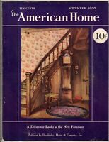1930 American Home NOVEMBER - Houses in Santa Barbara and Beverly Hills CA,Macon