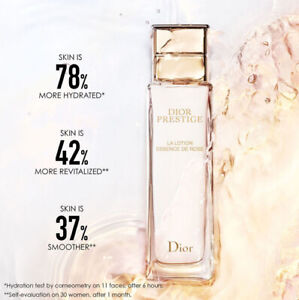 DIOR PRESTIGE La Lotion Essence De Rose 150ML 100% New TST