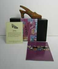 Just The Right Shoe Autumn 1999 by Raine Willitts Designs w/Box and Coa