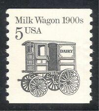 USA 1985 Milk Wagon/Dairy/Commerce/Business/Transport 1v (n43758)