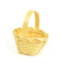 Miniature Dollhouse Fairy Garden - Mini Basket - Accessories
