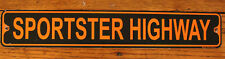 "Metal Street Sign Sportster Highway Harley Davidson Rider Biker Bar Decor 3""x18"""