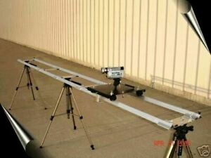 Portable camera video film slider dolly tripod track crane boom  ((WATCH VIDEO))