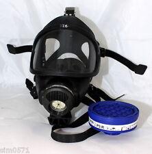 MSA 3S Auer maschera antigas completa di filtro