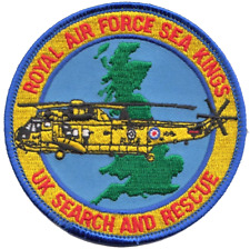 Royal Air Force RAF Search and Rescue Sar Sea Kings Mod Embroidered Patch