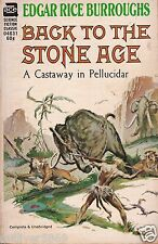 Back To The Stone Ege by Edgar Rice Burroughs (1937~Paperback)
