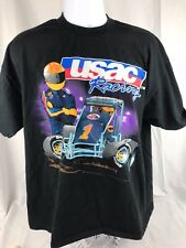 USAC  Racing T Shirt Children's XL
