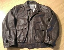 Wilsons Leather Bomber Jacket (Men's XL) Thinsulate