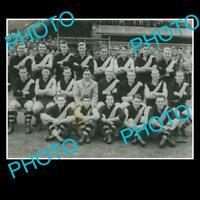 OLD FOOTBALL PHOTO, 1955 RICHMOND FC TEAM