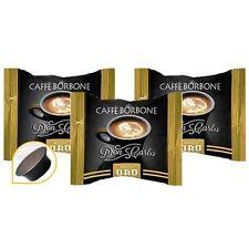 200 CIALDE CAPSULE COMPATIBILI LAVAZZA A MODO MIO CAFFE' BORBONE DON CARLO ORO