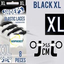 Zwarte Shoeps XL Schoenveters 8 stuks