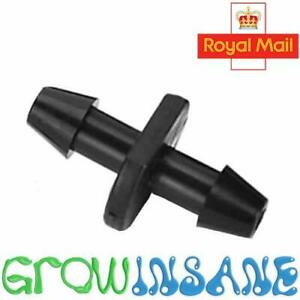 4mm Straight Connector Micro Irrigation Joiner PVC 13mm Offtake Fits Hozelock