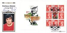 1996 Benham First Day Cover Football Legends signed by George Best