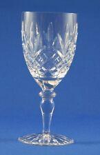 "EDINBURGH CRYSTAL -  BALMORAL DESIGN  -  LARGE WINE GLASS  15.2cm  /  6"""