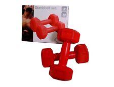 Hantel-Set | 2x 1 kg | Gymnastik Aerobic Fittness Sport Gewichte Übungsgewicht