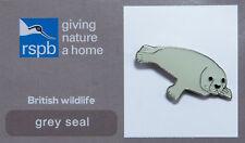 RSPB Pin Badge   Grey Seal GNaH [00254]