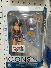 "New listing Dc Comics Icons Wonder Woman 6"" Action Figure- Nib"