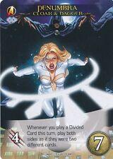 CLOAK & DAGGER Upper Deck Marvel Legendary SP PENUMBRA