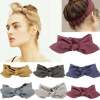 Hairband Rabbit Ear Bow Headband Women Girl Headwrap Hair Accessories For Girls