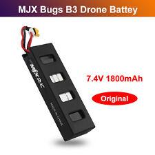 1800mAh 7.4V LiPo Battery High Capacity for MJX Bugs 3 B3 Brushless RC Drone PRO
