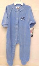 North Carolina Tar Heels Boys Blue 6-9 Months Pajama Body Suit